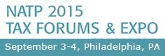 2015 NATP Tax Forums - Philadelphia