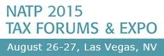 2015 NATP Tax Forums - Las Vegas