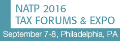 2016 NATP Tax Forums - Philadelphia