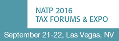 2016 NATP Tax Forums - Las Vegas
